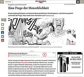 """Last Hero Inuyashiki"" im Tagesspiegel"